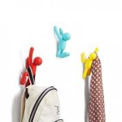 Umbra Coat Hooks Wall Hanger Buddy Assorted Colours Set Of 3
