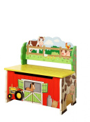 Teamson Farm Collection Storage Bench