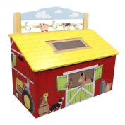 Teamson Farm Collection Toy Box