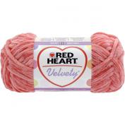 Red Heart Velvety Yarn-Mango