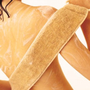 Exfoliating Loofah Back Strap Scrubber Shower & Bath Band Body Washer for Men & Women by Prestige Industries®