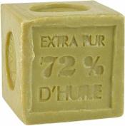 Pre' de Provence Soap Shea Enriched 72% Marseille Quad Milled Soap, Cube, 300 Gramme