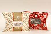 Olivia Care Luxury Olive Oil Bath Soap Mandarin Orange 2 Bar Set - Assorted Luxury Packaging