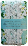 Asquith & Somerset White Lily 310ml Single Soap Bar From England
