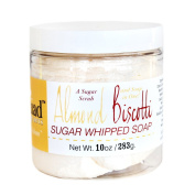 Almond Biscotti Sugar Whipped Soap 300ml