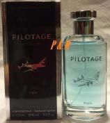 PILOTAGE BY AVIATOR PARIS BLEU COLOGNE FOR MEN 3.3 OZ / 100 ML EAU DE TOILETTE SPRAY