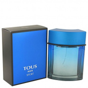 Tous Man Sport by Tous Eau De Toilette Spray 100ml