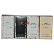 MARC JACOBS DAISY VARIETY by Marc Jacobs (WOMEN) MARC JACOBS DAISY VARIETY-4 PIECE VARIETY WITH DAISY, DAISY DELIGHT, DAISY EAU SO FRESH, DAISY EAU SO FRESH DELIGHT AND ALL ARE .380ml MINIS