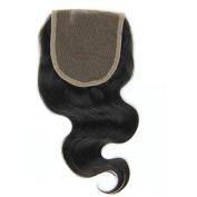 Body Wave Brazilian Human Hair Lace Closure 10cm x 10cm Unprocessed Natural Colour