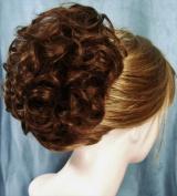 HAYLEY Clip On Hairpiece by Mona Lisa - 30 Auburn