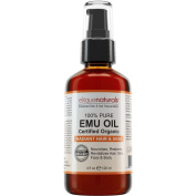 Emu Oil - For Hair Growth, Hair Conditioner, Stretch Marks, Scars, Insect Bites And Stings, Anti-Inflammatory Properties, Acne And Skin Redness. Emu Oil Hydrates The Skin And Is A Great Skin Moisturiser On Its Own. Elrique Naturals EMU OIL 120ml 100% G ..