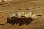 Citrine Stone French Barrette Hair Clip