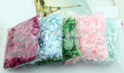 500 Pieces, Polyester Ribbon Bow Solid Bowtie Decorative Accessories