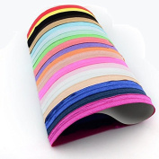 20 Pieces, Baby Kid Girl Headband Cotton Headwear Elastic Hair Band Stretch Hairband Headdress Accessory