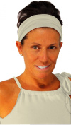 ice cream Cream Beige Fitness Headband
