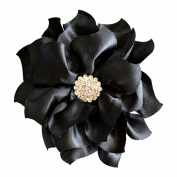 Flower Hair Clip Black Bridal Bridesmaid Mother of the Bride Girl