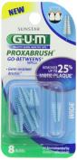GUM Go Betweens Proxabrush Refills, Wide, 8-Count Packages