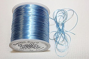 High Quality - Elastic Cord - 0.8mm - 100 Metres / Spool - Stretchy Very Strong - Many Colours (Light Blue