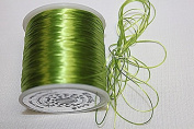 High Quality - Elastic Cord - 0.8mm - 100 Metres / Spool - Stretchy Very Strong - Many Colours (Lime