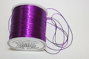High Quality - Elastic Cord - 0.8mm - 100 Metres / Spool - Stretchy Very Strong - Many Colours (Purple