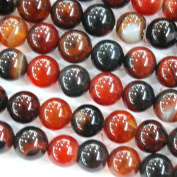 Natural Fancy Agate Round Gemstone Loose Beads Jewerly Making Findings