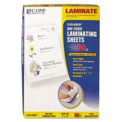 Cleer Adheer Laminating Film, 2 mil, 9 x 12, 50/Box, Sold as 1 Box, 50 Each per Box