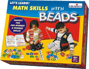 Creative Educational Pre-School Let's Learn Math Skills with Beads