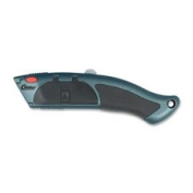 Auto-Load Utility Knife, w/ Rubber Grip, 10-Blade Chamber, Sold as 1 Each
