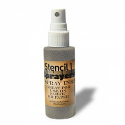 Stencil1 Sprayers Metallic Colours 60ml-Silver