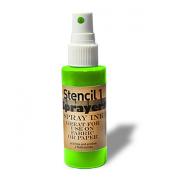 Stencil1 Sprayers Day-Glow Colours 60ml-Green