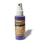 Stencil1 Sprayers Standard Colours 60ml-Purple