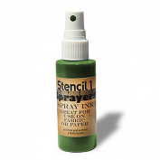Stencil1 Sprayers Standard Colours 60ml-Green