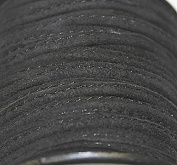 Genuine Suede Leather - *High Quality * Stitched - 3 Mm Width - Various Colours - Packing of 1 Yard, 5 Yard, 10 Yards in Hank & 25 Yards Spool (5 Yards, Black
