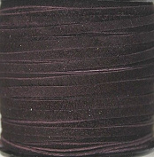 2.5mm Width - Very Thin Suede Lace (0.5-0.7 Thickness) - Genuine Suede Leather - 25 Yards Per Spool - Available in Many Colours (Wine
