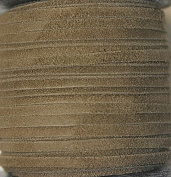 2.5mm Width - Very Thin Suede Lace (0.5-0.7 Thickness) - Genuine Suede Leather - 25 Yards Per Spool - Available in Many Colours (Mehandi
