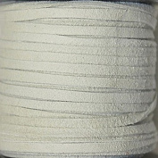 2.5mm Width - Very Thin Suede Lace (0.5-0.7 Thickness) - Genuine Suede Leather - 25 Yards Per Spool - Available in Many Colours (Splash