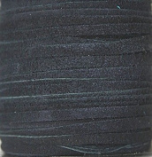 2.5mm Width - Very Thin Suede Lace (0.5-0.7 Thickness) - Genuine Suede Leather - 25 Yards Per Spool - Available in Many Colours (Navy Blue