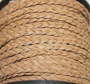 Genuine Leather * High Quality * - 2 Mm - 3 Flat Cords - Braided - 3 Colours
