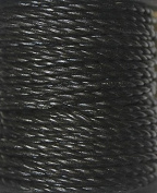 Genuine Leather Cord - * High Quality * 1mm-round-2 Strands- Twisted - Available in 3 Colours - Natural, Black, Red Brown - In Length of 5 Yards, 10 Yards - Hank & 25 Yards - Spool (1-Yard, Black