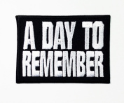 A Day to Remember American Rock Band Iron on Sew Applique Embroidered Patch. to World Wide. New with High Quality for Your Cloth By Jupeter