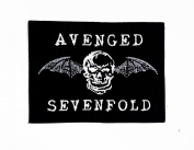 Avenged Sevenfold Skull Bat Heavy Metal Rock Punk Music Band Logo Polo T Shirt Patch Sew Iron on Embroidered Badge Sign Costum. New with High Quality for Your Cloth By Jupeter