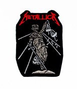 Metallica Rock Music Band Patch Embroidered Iron on Hat Jacket Hoodie Backpack Ideal for Gift. New with High Quality for Your Cloth By Jupeter