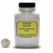 Sodium Sulphate [Na2SO4] 99.9% ACS Grade Powder 0.5kg in a Space-Saver Bottle USA
