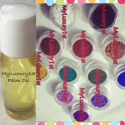 12 Sample Pigment Powder Colour 1g & 30ml Palm Oil Gramme Cold Hot Process Soap Making