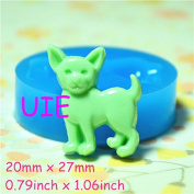 028LBD Loyal Dog Flexible Silicone Push Mould Dollhouse Decoration Mould Mini Resin Mould