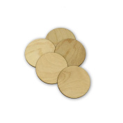 Round Circle Style 3510, Wooden Cutouts, Crafts Embellishment, Gift Tag or Wood Ornament