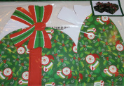 Christmas Cookie Boxes Package of 2 3-D Holiday Designs