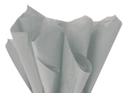 Tissue Paper grey ~ FOR CRAFTS & GIFT BAGS ~ 24 sheets