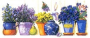 Flowers By the Window, Dmc Strand 63*30 Cm 14ct Cross Stitch,cross Stitch Kits 270*114aida.