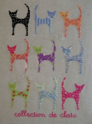 Colourful Cats, Colourful Days, Counted Cross Stitch Kits, 30*41cm Cross Stitch Kits